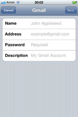 how to add epsb email account to phone