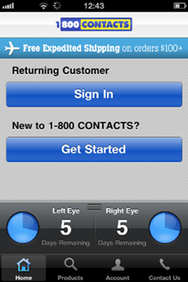 1-800 Contacts -Home Page