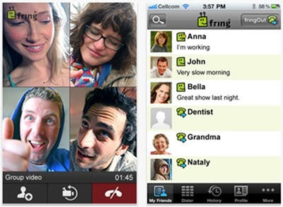 Fring - Google Talk Apps