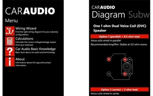 car audio - audio car apps