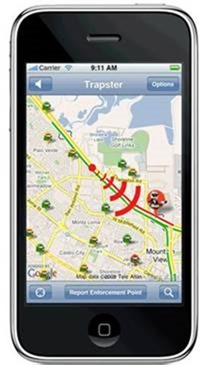 trapster - Automotive Apps for iPhone
