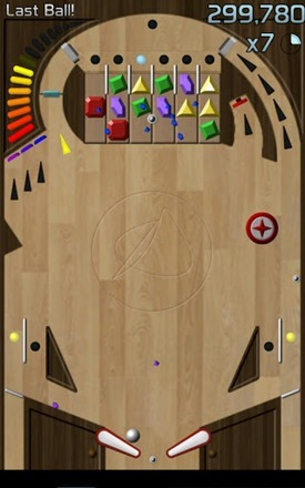 jewel bash pinball screenshot