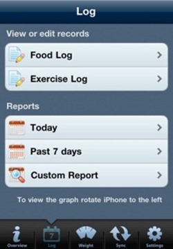 tap track calorie counter
