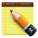 AK notepad - Free Business Apps