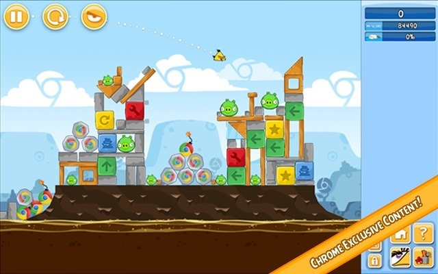 Angry Birds - Chrome web app