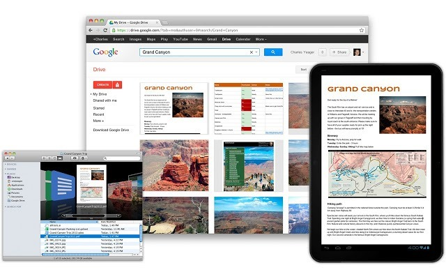 Google Drive - Chrome Web app