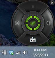 The supercool Bitdefender widget