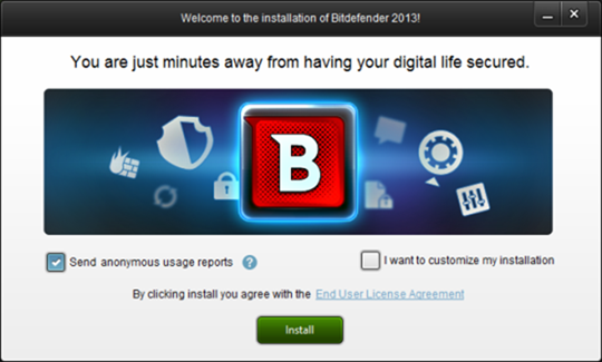 installing bitdefender internet security 2013