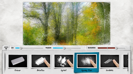 Turning your Photos to Art