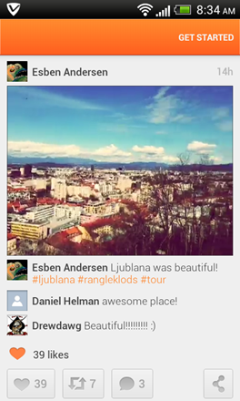 Cinemagram Brings Video Sharing to Android: Review