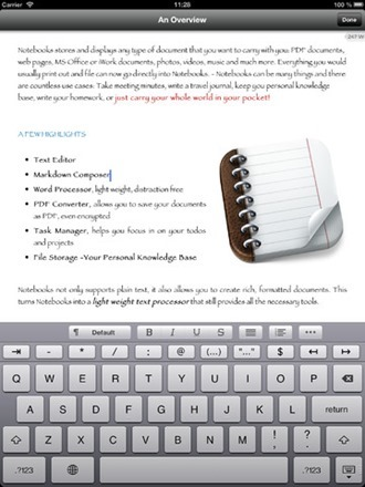 notebooks  ipad app 1