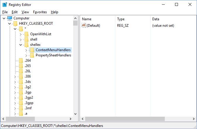 how to add open with to right click menu