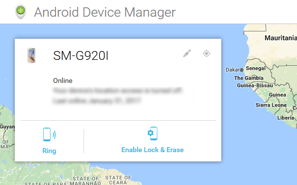 Android Device Manager - Track Lost Android Phones