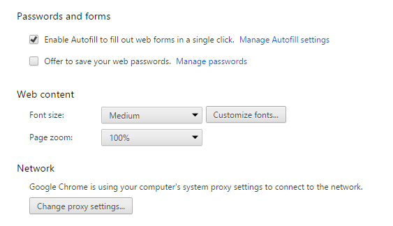 customize fonts on chrome