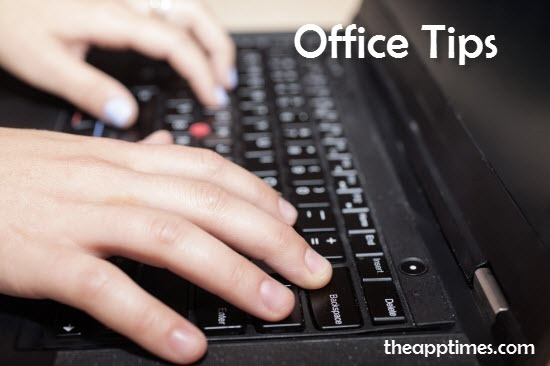 office tech tips