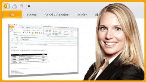 Manage email, time and contacts using Microsoft Outlook 2010