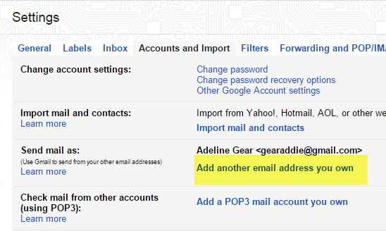 how to get an email address with your own name