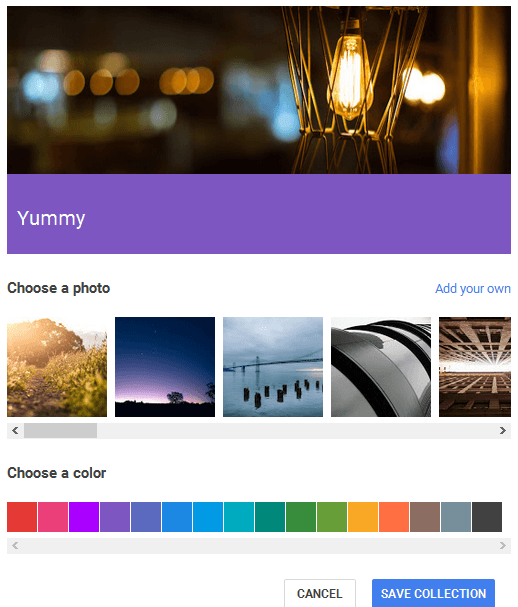 customize google plus