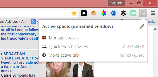 manage chrome tabs