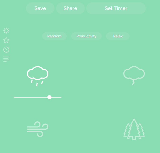 noisli sounds