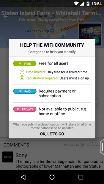 WiFiMapper community