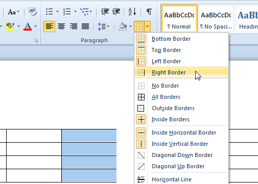 how to put a border on a word document