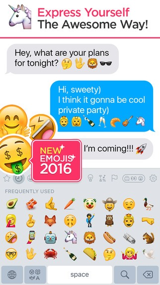 Emojis - New Emoji Keyboard for iPhone
