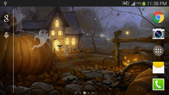 Halloween Live Wallpaper PRO - halloween apps 2015