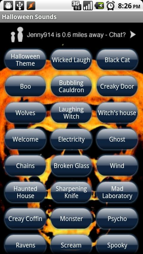 Halloween Ringtone SMS Sounds