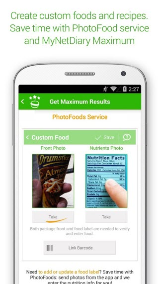 best android food journal apps to track your calories