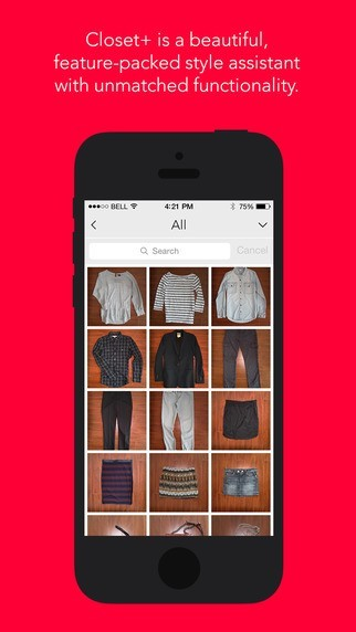 Closet - Apps To Help You Organize Your Wardrobe