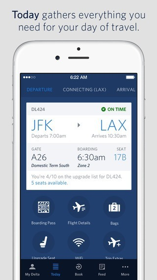 Delta Airline Apps