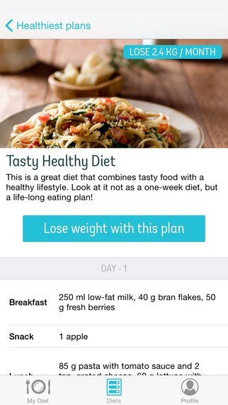 calorie count - Apps to Help You Lose Weight - diet point