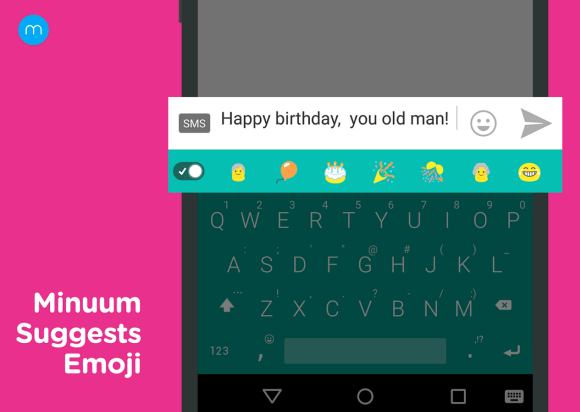 Minuum Keyboard Free + Emoji