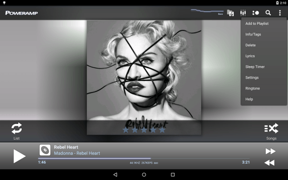 music player apps - Poweramp Music Player