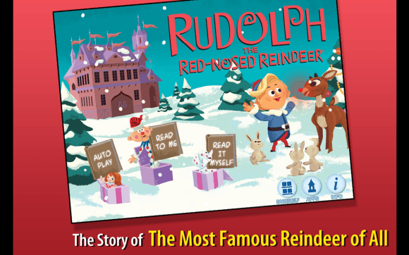 christmas apps for kids - Rudolph the Red Nosed Reindeer