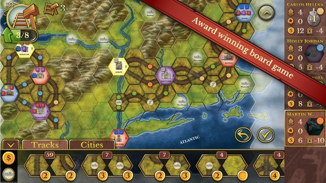 Steam Rails to Riches -  iOS Games to Play in November 2015