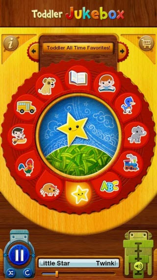 Educational Android Apps for Kids - Toddler Music Jukebox