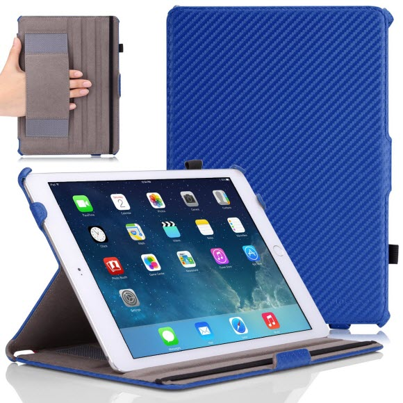 best ipad pro cases - MoKo Slim-Fit Folio Cover Case