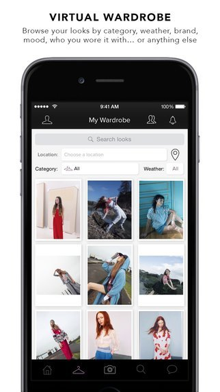 Cloth - apps to help you organize your wardrobe