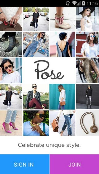 pose - fashionista android apps