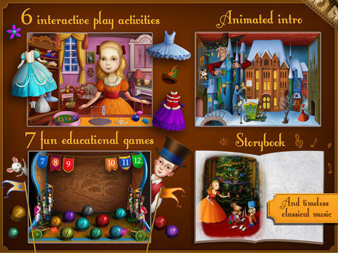 the nutcracker - christmas apps for kids