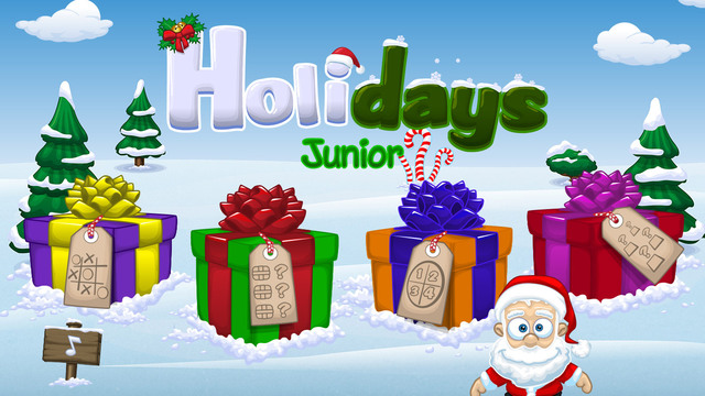 Holidays Junior - 4 cute christmas games for kids