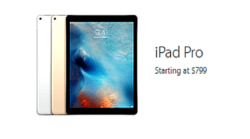 buying an ipad pro - gt
