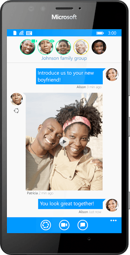 Glide free live video messaging app