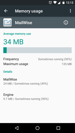 Using the RAM in Android marshmallow