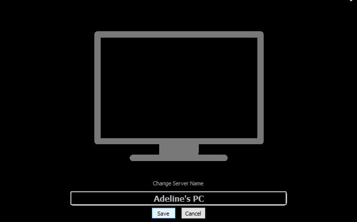 Change name of AirPlay Receiver
