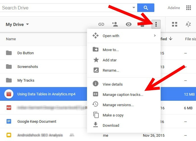 How to Add Captions to Videos in Google Docs