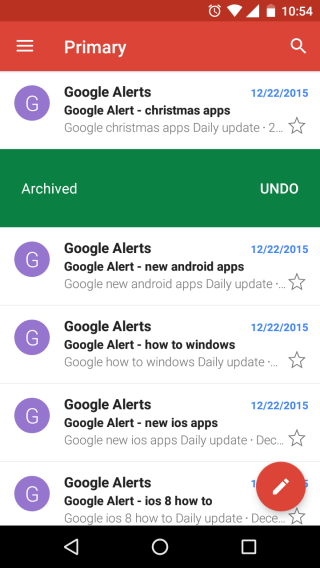 How to Archive Gmail Messages on Android