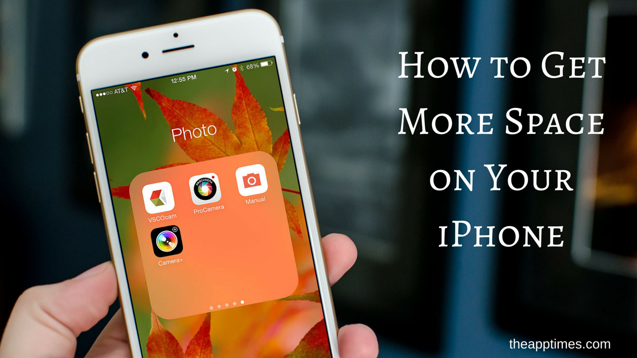 how to clear more space on iphone